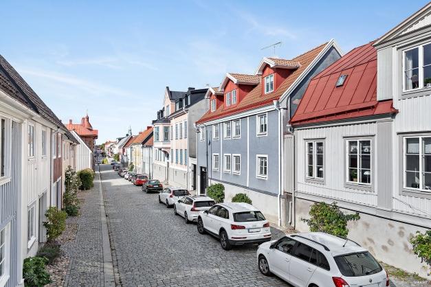 Drottninggatan mot Karlshamns centrum