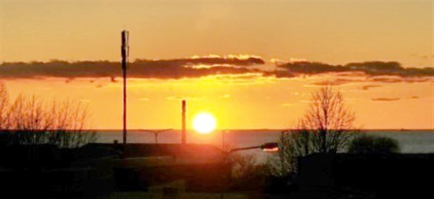 Solnedgången