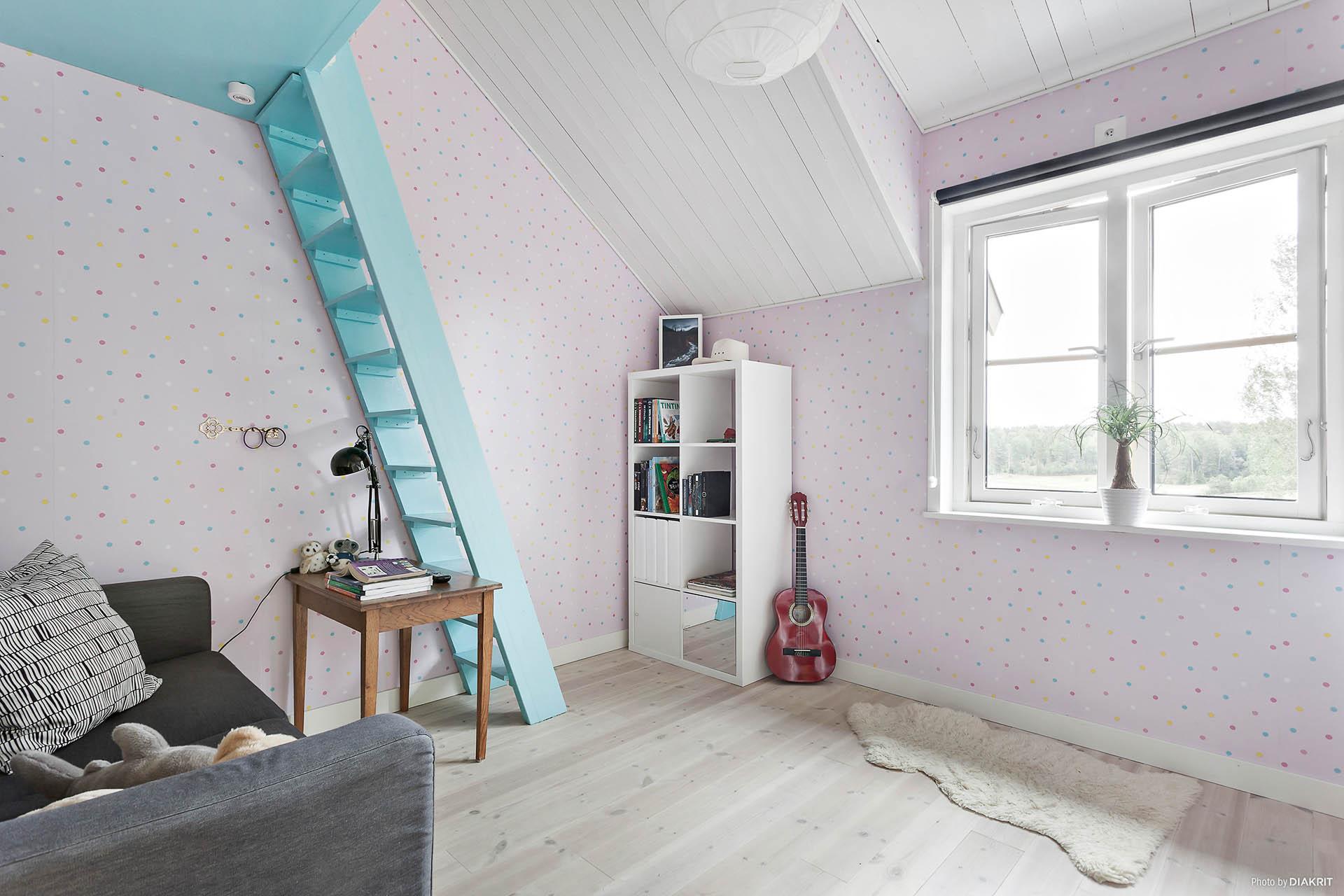 Sovrum 3 med loft