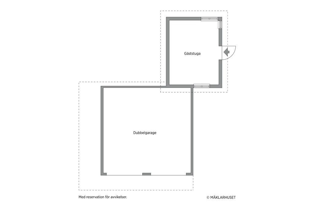 Garage & Gäststuga