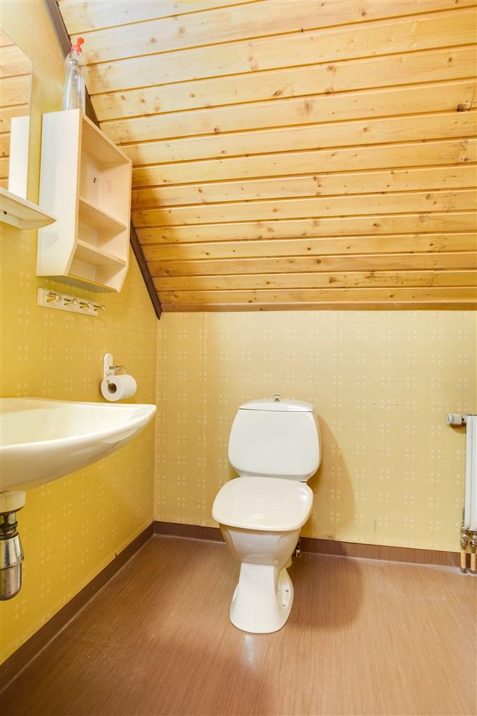 Dusch/wc i orginalskick.