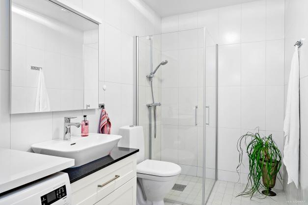 Badrum med duschhörna (extra tillval)
