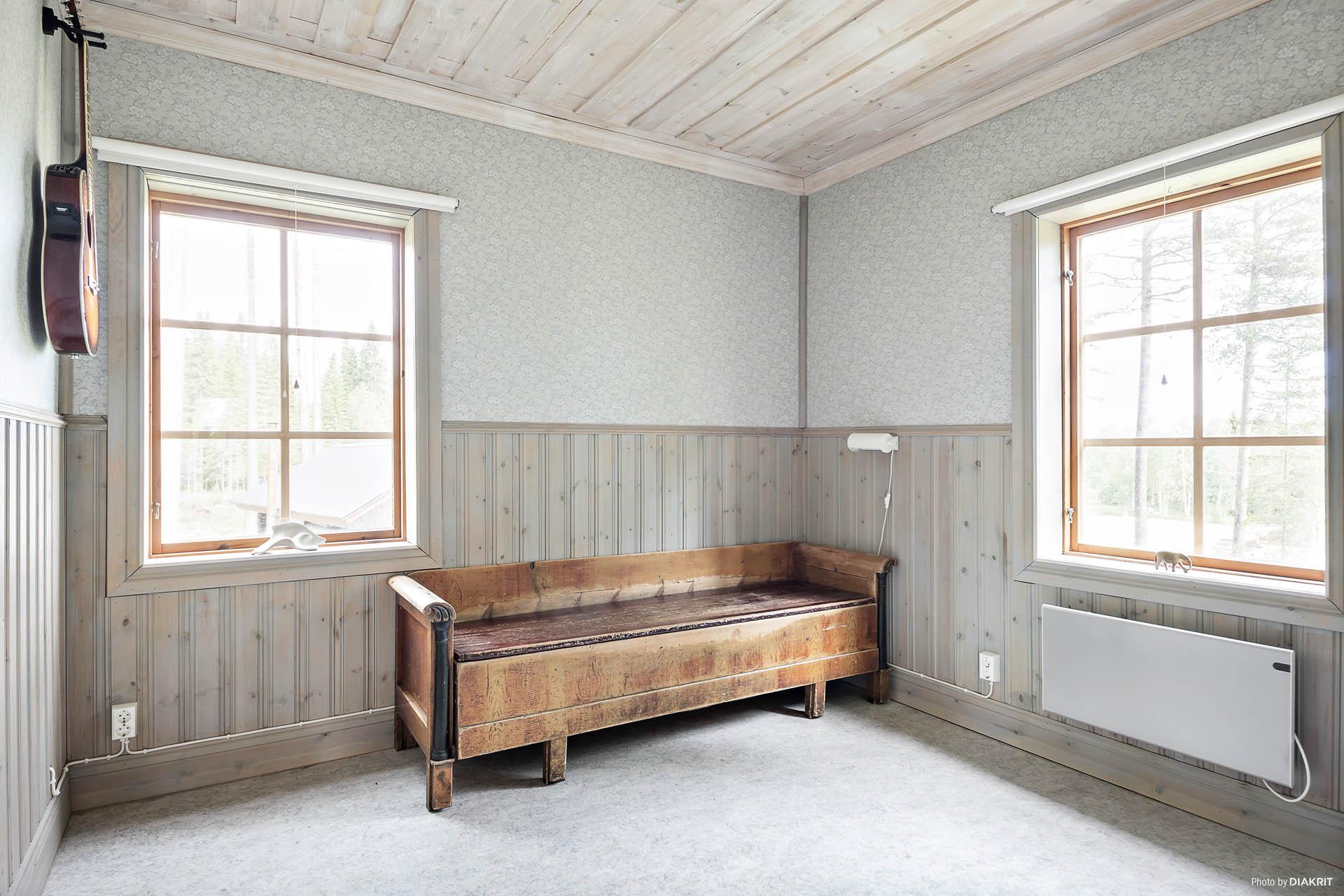 Sovrummet i kvarnstugan