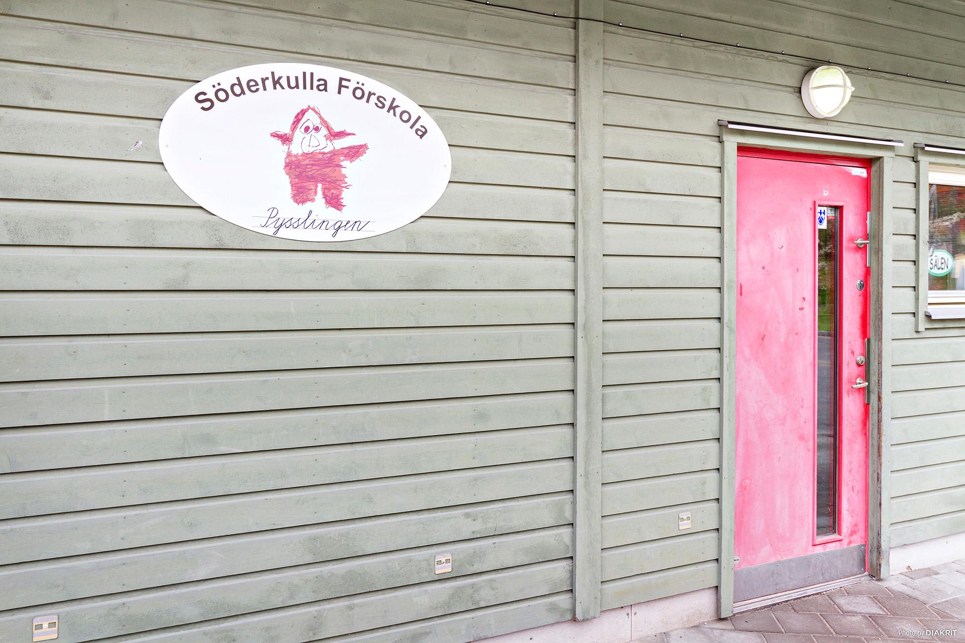 Den populära förskolan Söderkulla ligger i området