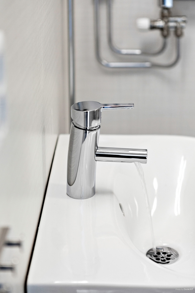Detaljbild badrum