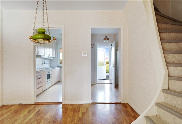 Matrum med kök och hall