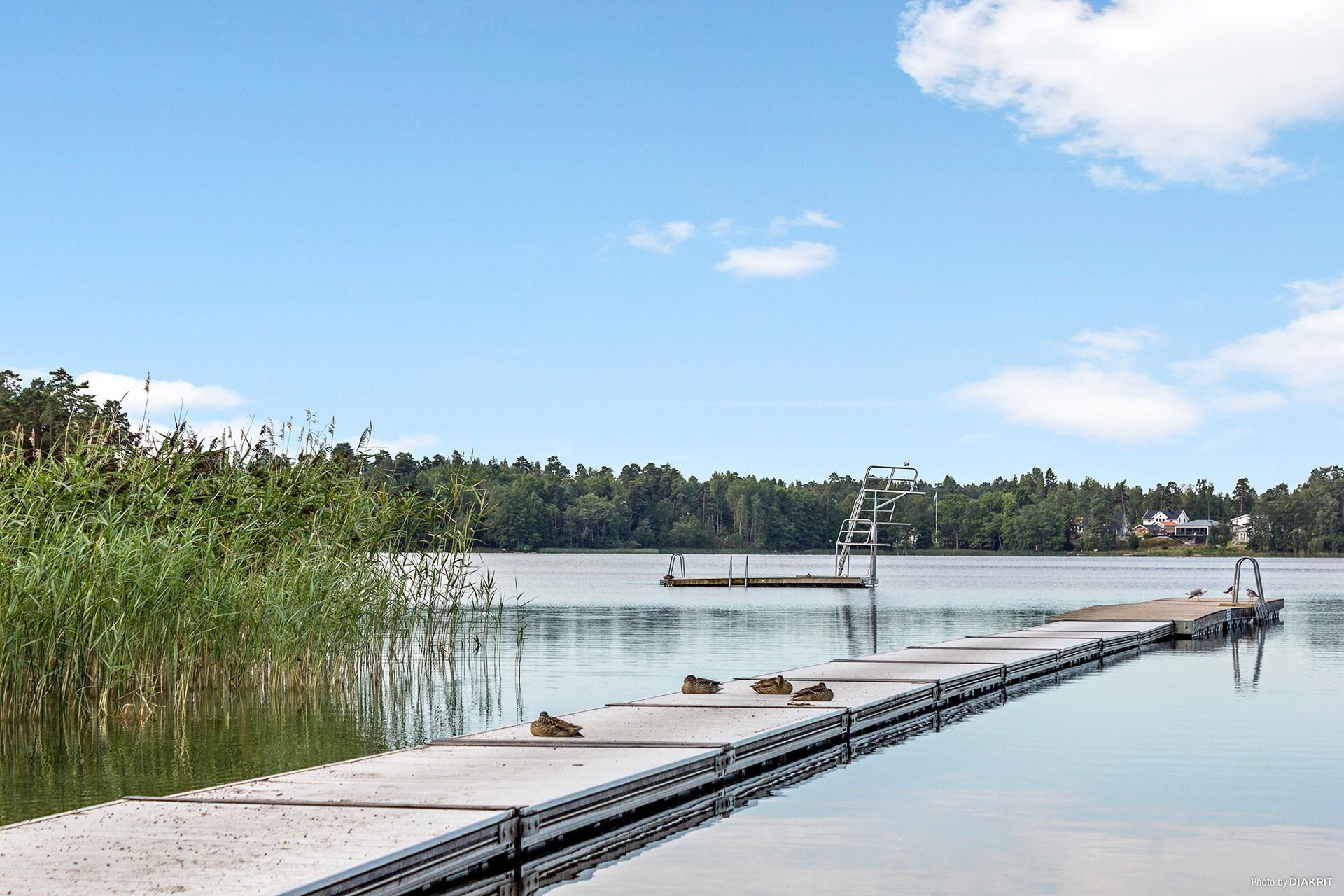 Bryggorna vid Lillsjöbadet