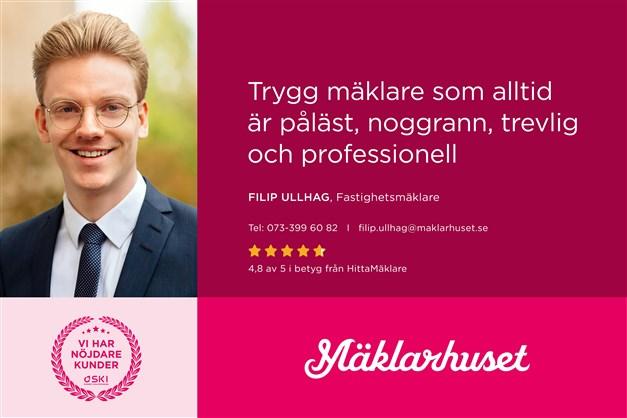 0733996082 / filip.ullhag@maklarhuset.se
