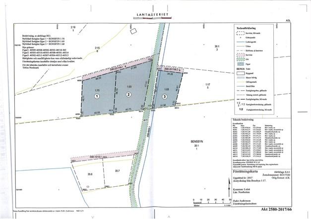 Bensbyn 1:70 2435 m²