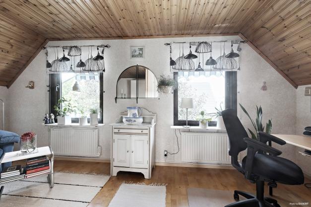 Rummet kan enkelt återställas till två sovrum