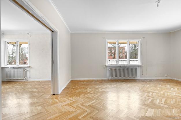 Vardagsrum lägenhet nr 1