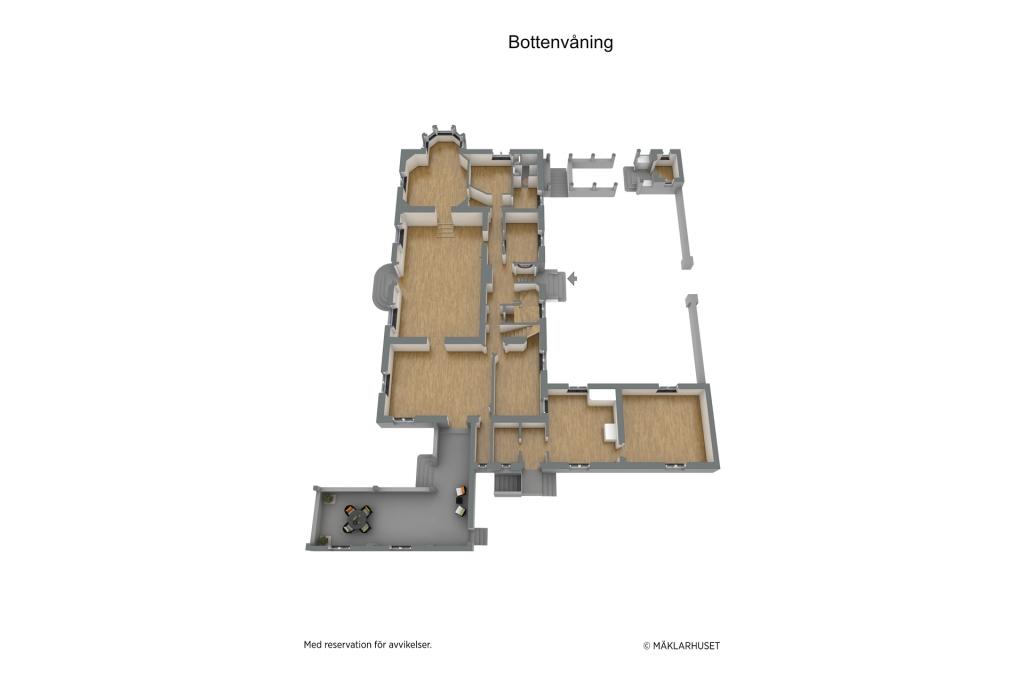 Planlösning våningsplan 1
