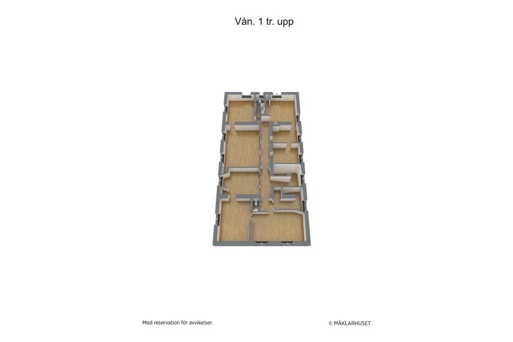 Planlösning våningsplan 2