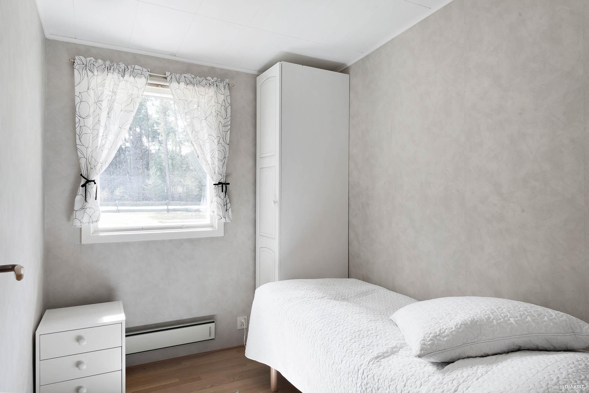Ett tredje sovrum med plats för enkel/våningssäng.