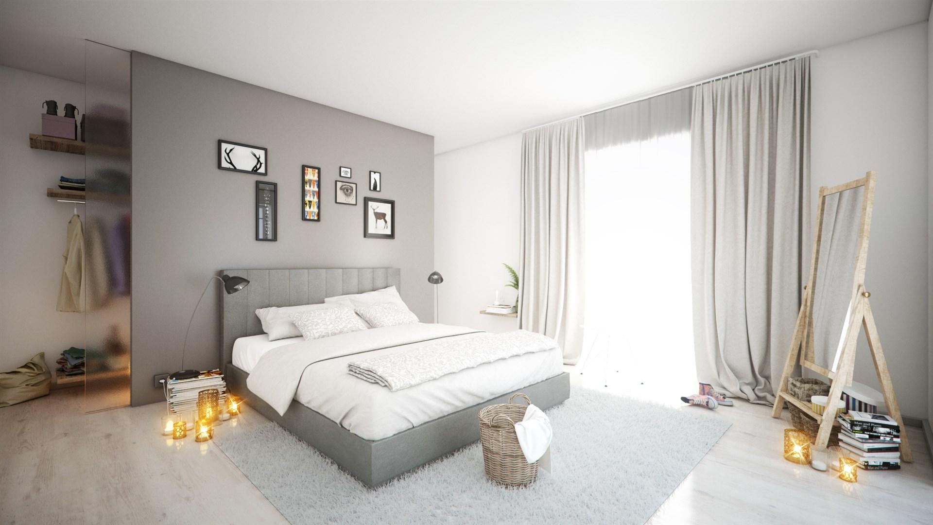 Illustrationsbild sovrum