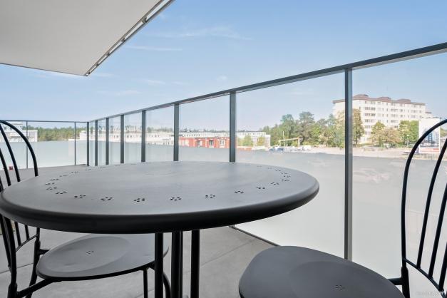 Balkong om 13 kvm