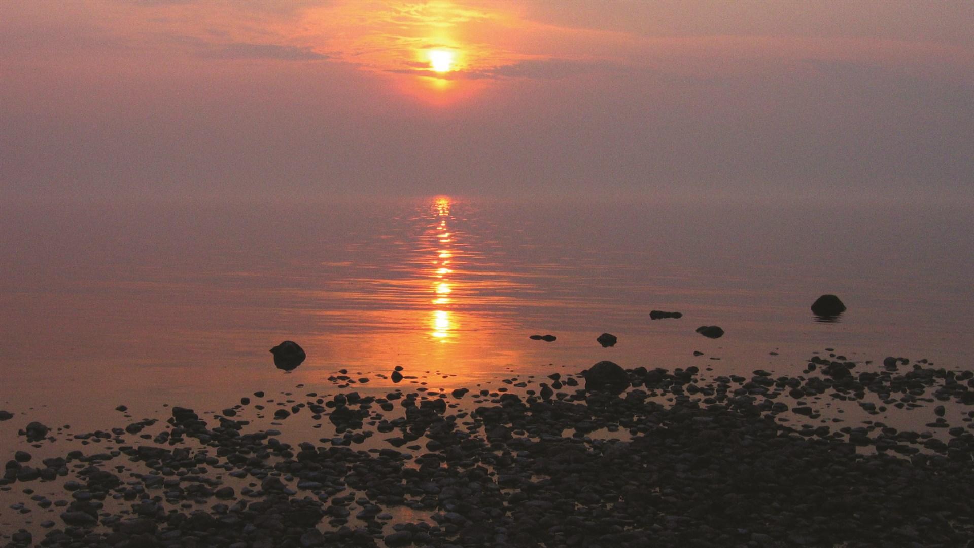 Fina solnedgångar
