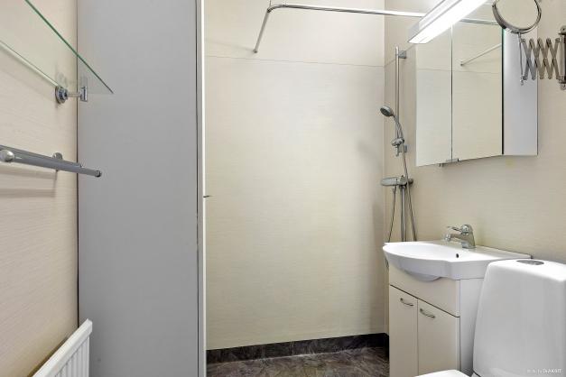 Fräscht och fint duschrum