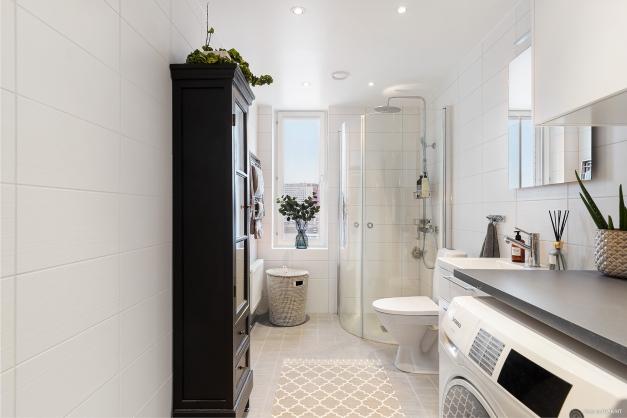 De perfekta badrummet inrett med trådlöst ljudsystem!