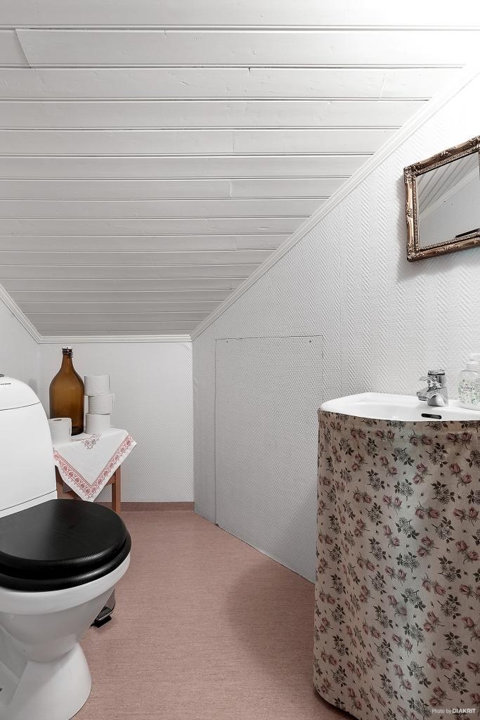 Toalett i ovanplan