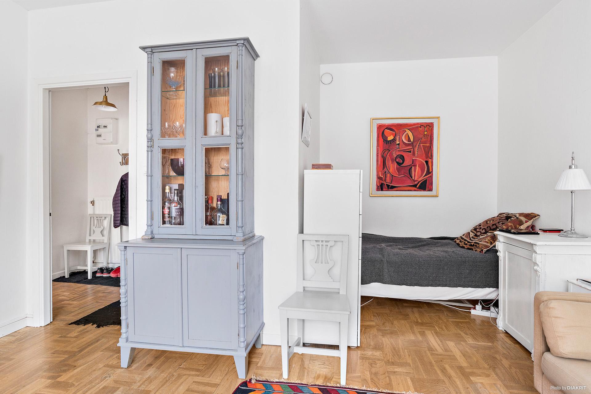 Sovalkov i rummet