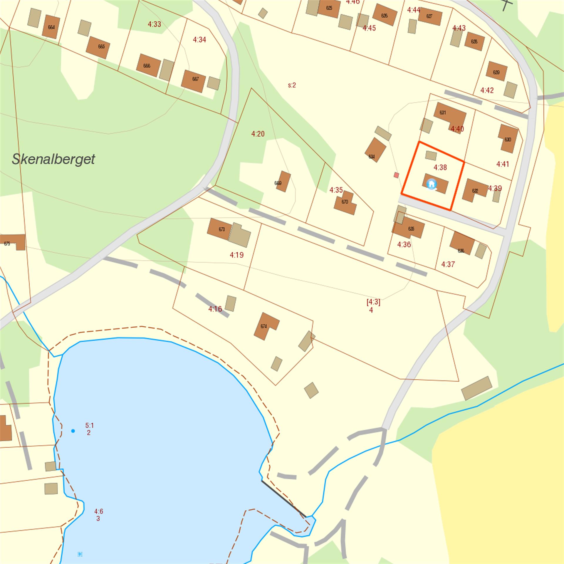 Områdeskarta. Nära fin badplats