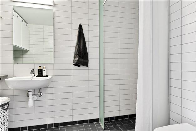 Rymligt duschrum