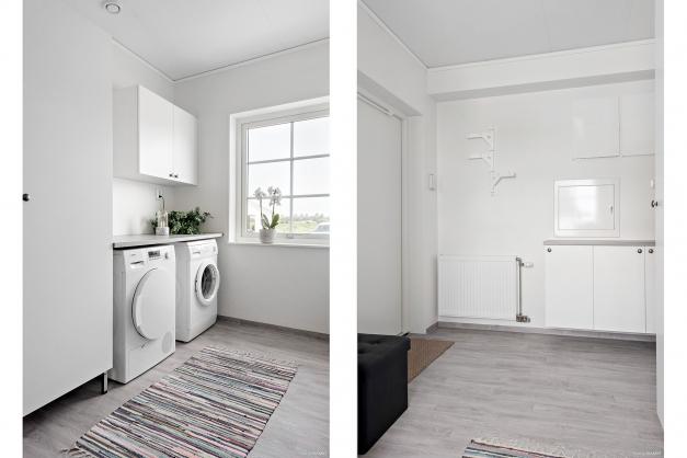 Tvättstugan, bra materialval, stilrent