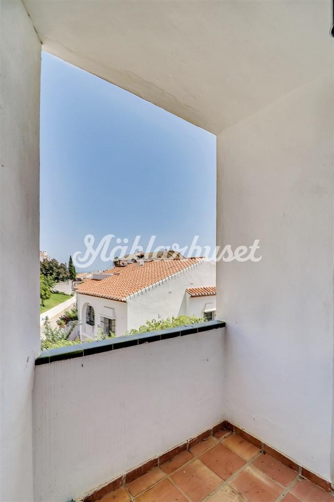 Terrassen från sovrummet