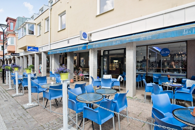 Välkommen till Café Lilla Blå