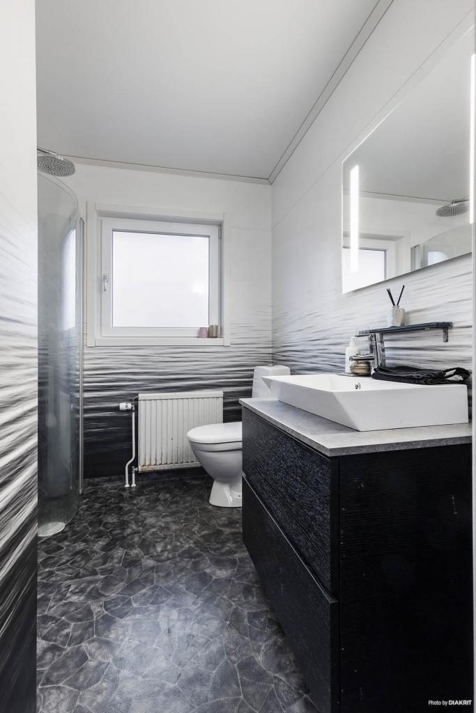 Toalett/dusch renoverad 2015