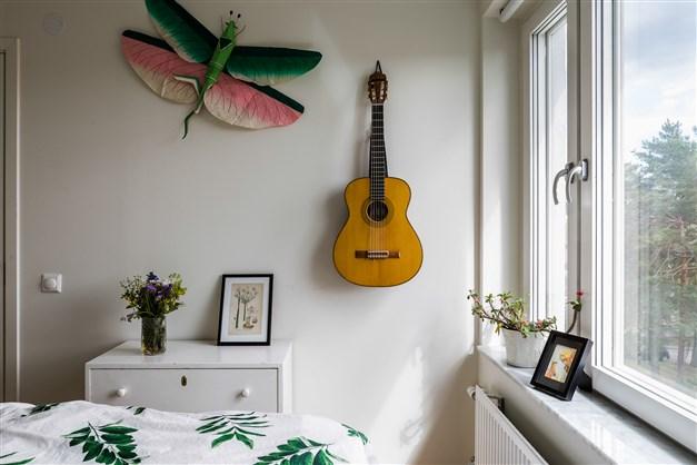 Detalj sovrum
