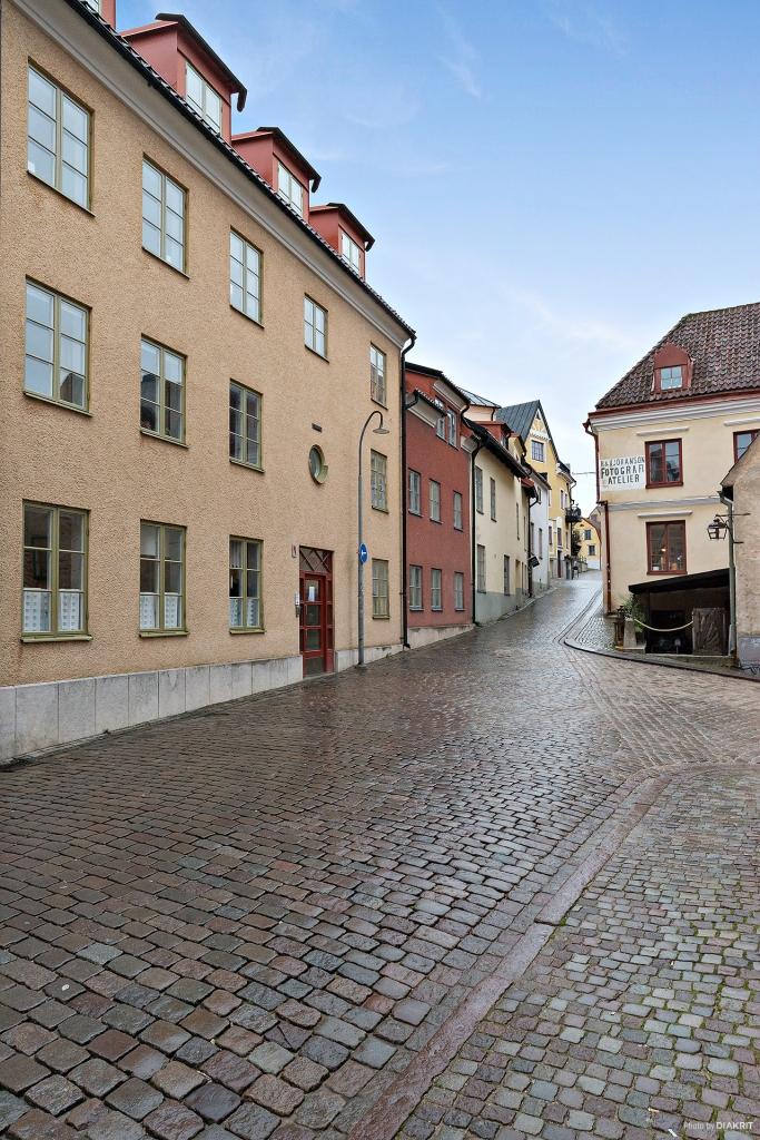 Södra Kyrkogatan upp mot Wallérsplats