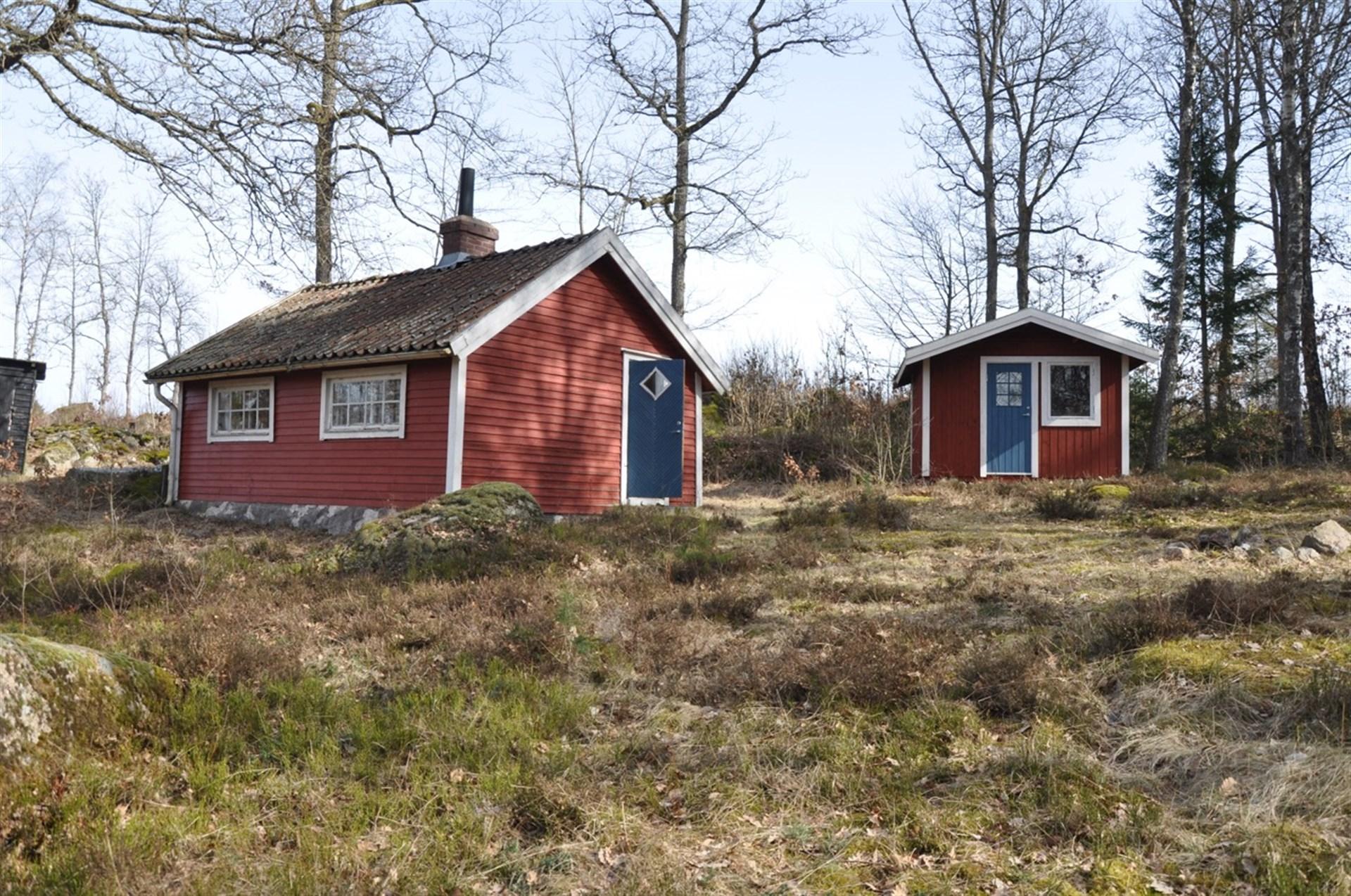 Huset och ett gäshus