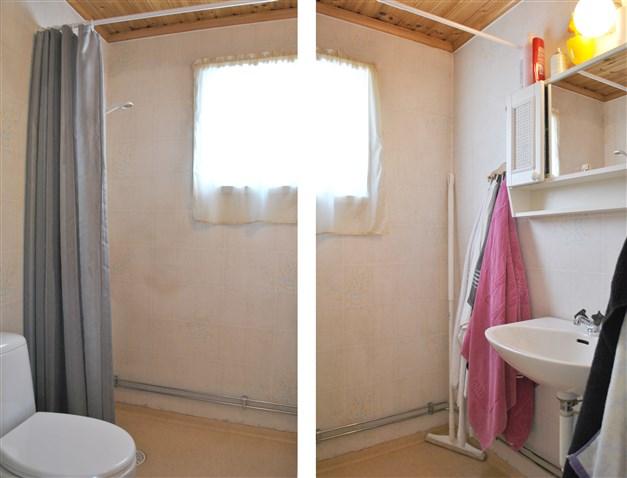 Wc/dusch övervåningen