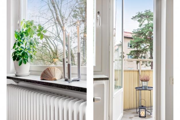 Detalj & balkong