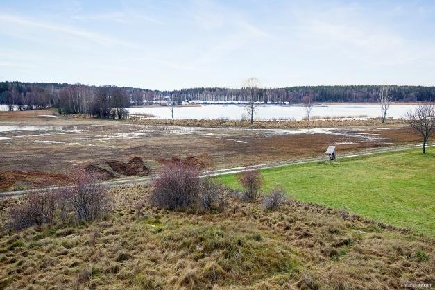Områdesbild över Täljöviken och Svinninge Marina.