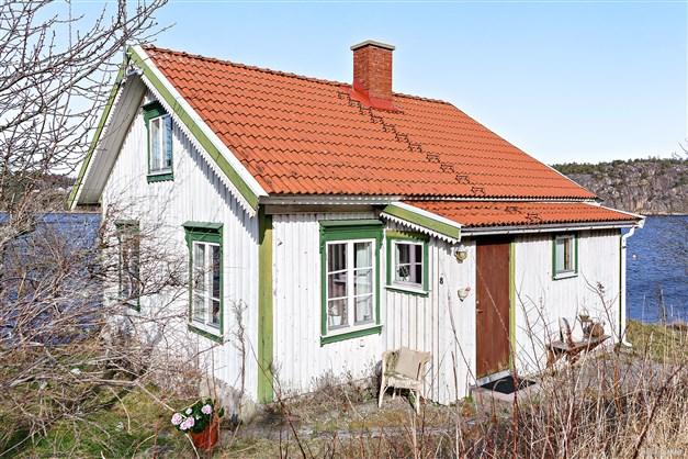 Vackert Bohuslänskt hus.