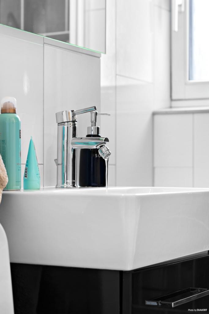 Detalj duschrum