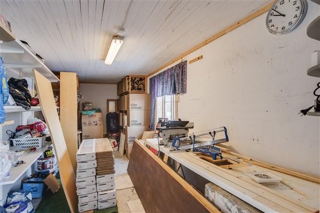 Snickarbod/Hobbyrum i uthus