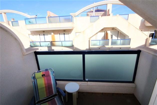 Master sovrum balkong