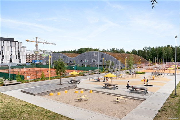 Multiarenan USIF Arena i Rosendal