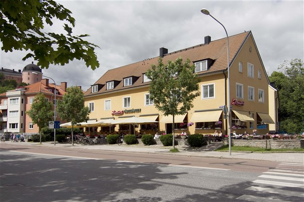 Café Fågelsången vid Svandammen