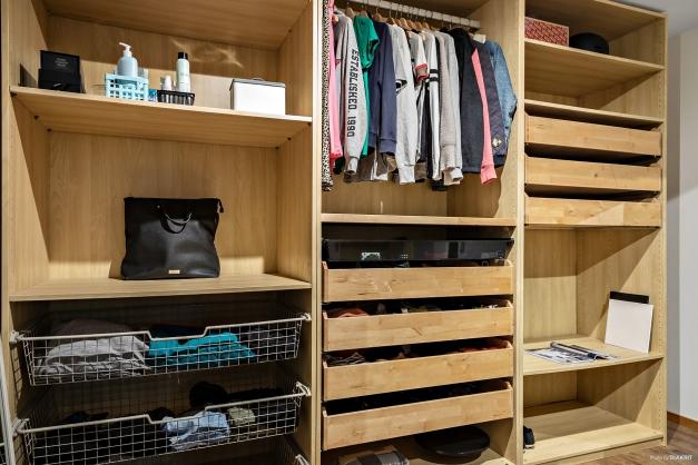 Walk in closet i anslutning till sovrum 5