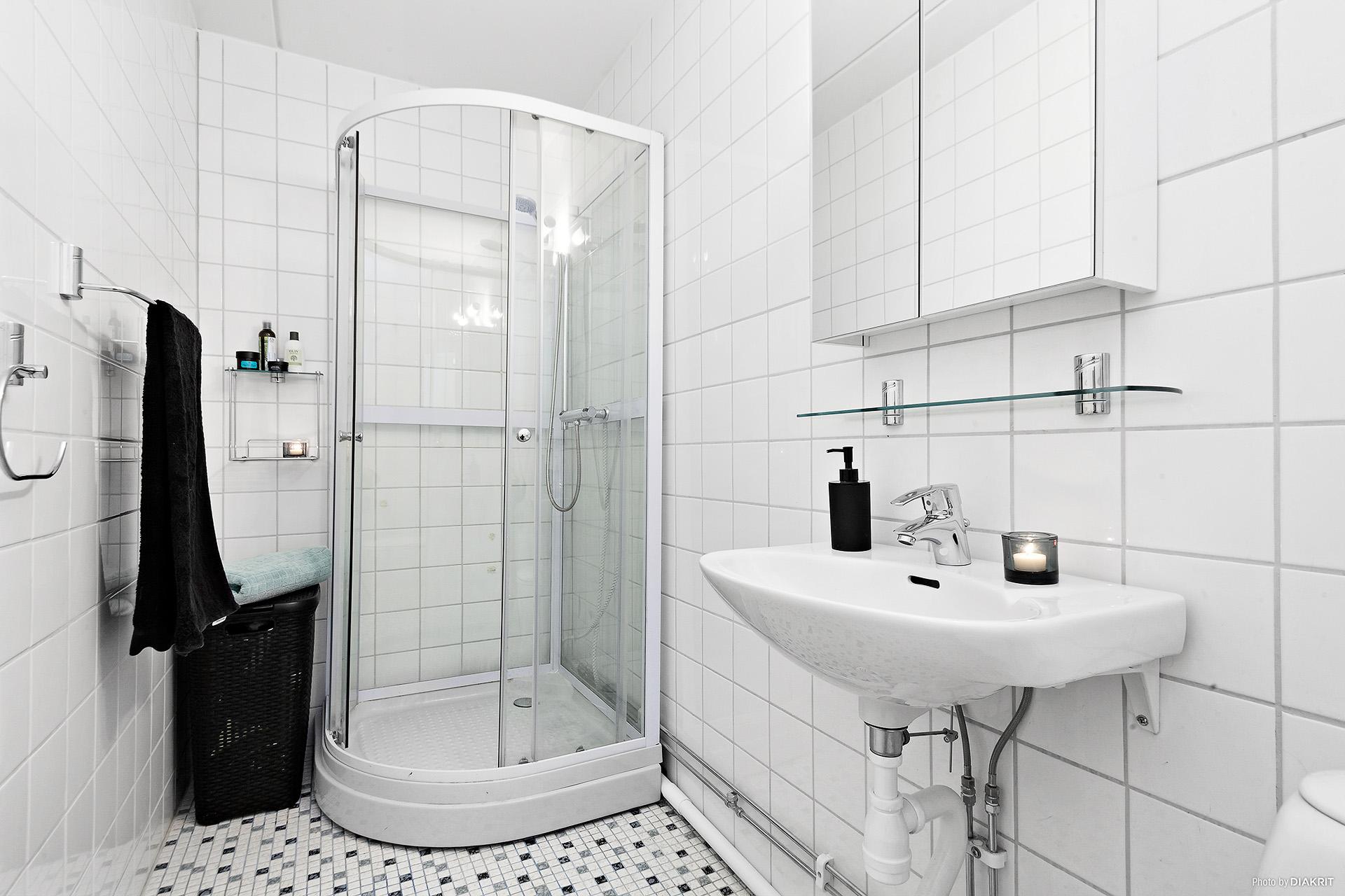 Helkaklat badrum och dusch