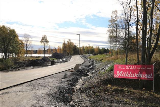 Den nya Strandängsvägen är nästan klar