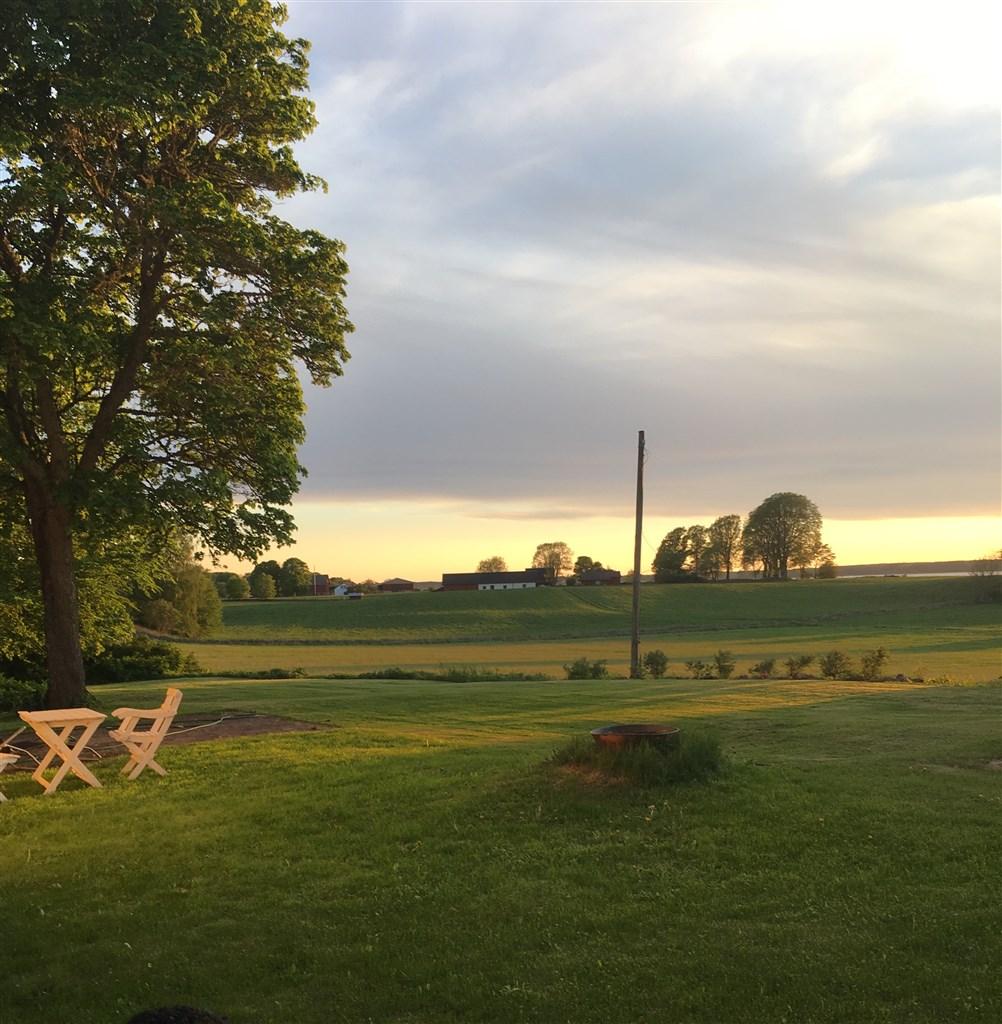 Kvällsbild från Storegården