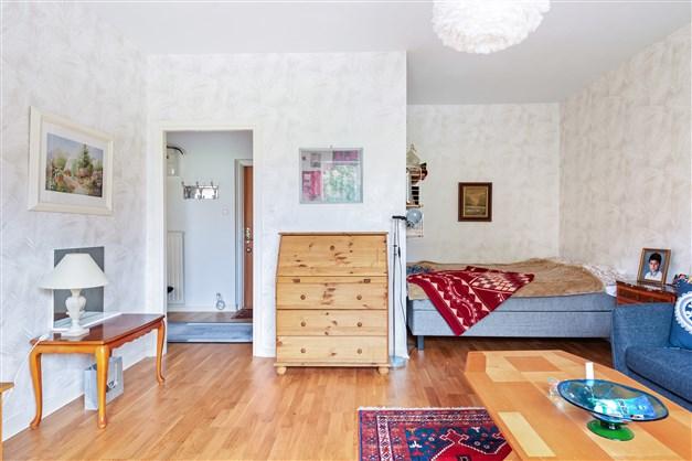 Sovalkov med plats för bred säng