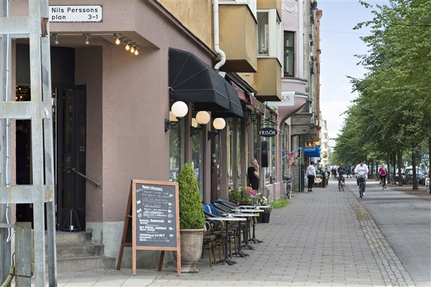 Stort utbud Regementsgatan