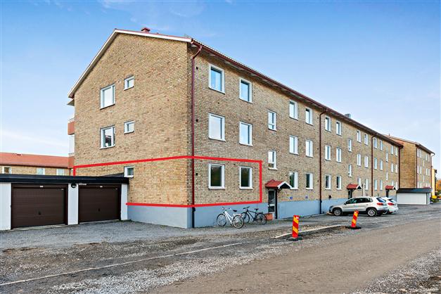 Välkommen till Frideborgsgatan 58, en trea på första våningen